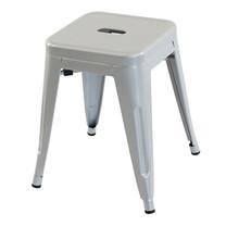 U-RO DECOR เก้าอี้สตูลเหล็ก รุ่น ZANIA-S (ซาเนีย-เอส) - สีเทา