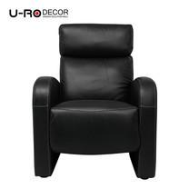 U-RO DÉCOR เก้าอี้โซฟาปรับนอนได้ รุ่น ENDGUY - สีดำ