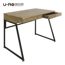 U-Ro Decor โต๊ะทำงานอเนกประสงค์/โต๊ะคอมพิวเตอร์ รุ่น ออเรนจ์ - สีโอ๊ค/น้ำตาลเข้ม