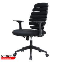 U-RO DECOR เก้าอี้สำนักงาน (OFFICE CHAIR) รุ่น ORLANDO (ออร์แลนโด) สีดำ