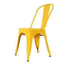 U-RO DECOR เก้าอี้เหล็ก รุ่น ZANIA-C (ซาเนีย-ซี) - สีเหลือง