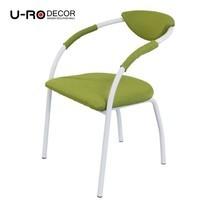 U-RO Decor รุ่น OSLO (ออสโล) เก้าอี้ดีไซน์ เก้าอี้รับประทานอาหาร สีเขียว