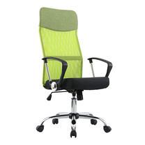 U-RO DECOR เก้าอี้สำนักงานสำหรับผู้บริหาร รุ่น SUN-F - สีเขียว/ เบาะนั่งสีดำ