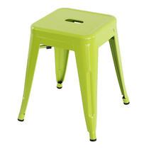 U-RO DECOR เก้าอี้สตูลเหล็ก รุ่น ZANIA-S (ซาเนีย-เอส) - สีเขียวแอปเปิ้ล