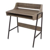 U-RO DECOR รุ่น IDEAL Working /Computer Desk - Oak /Dark brown