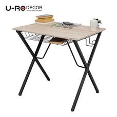U-RO DECOR โต๊ะทำงานอเนกประสงค์/คอมพิวเตอร์ รุ่น LEXUS สีซานรีโม่/ขาสีน้ำตาล