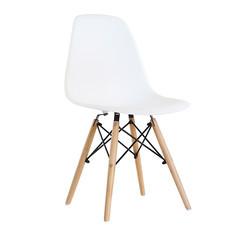 U-RO DECOR เก้าอี้รับประทานอาหาร รุ่น ACRON-K (แอครอน-เค) สีขาว/ขาไม้บีช