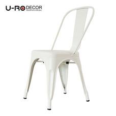 U-RO DECOR เก้าอี้เหล็ก รุ่น ZANIA-C (ซาเนีย-ซี) - สีขาว