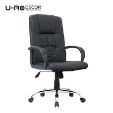 U-RO DECOR เก้าอี้สำนักงานสำหรับผู้บริหาร รุ่น MARK สีดำ