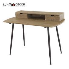 U-RO DECOR Working Desk รุ่น RENO - Oak /Dark Brown