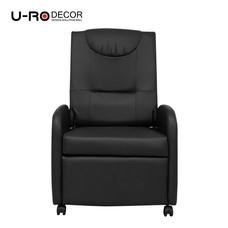 U-RO DÉCOR เก้าอี้โซฟาปรับนอนได้ รุ่น SABAI - สีดำ