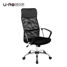 U-RO DECOR เก้าอี้สำนักงานสำหรับผู้บริหาร รุ่น SUN สีดำ