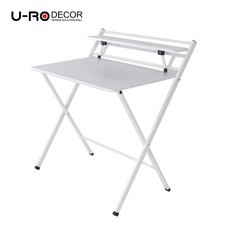 U-RO Decor รุ่น SYDNEY (ซิดนีย์) โต๊ะคอมอเนกประสงค์พับได้ สีขาว