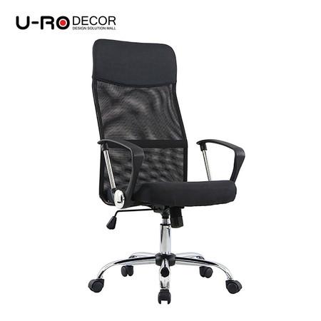 U-RO DECOR เก้าอี้สำนักงานสำหรับผู้บริหาร รุ่น SUN-F สีดำ