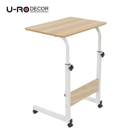 U-RO Decor รุ่น FOX (ฟอกซ์) โต๊ะคอมอเนกประสงค์ปรับระดับความสูง สีเมเปิ้ล