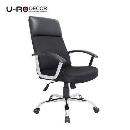 U-RO DECOR เก้าอี้สำนักงานสำหรับผู้บริหาร รุ่น BOSS สีดำ