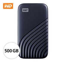WD NEW MY PASSPORT SSD 500 GB ( WDBAGF5000ABL-WESN ) - BLUE