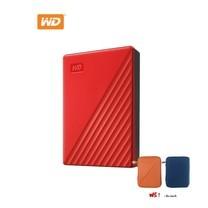 WD NEW MY PASSPORT 5 TB (WDBPKJ0050BRED -WESN) - RED