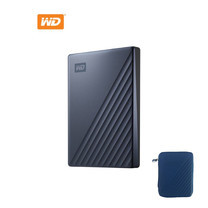 4 TB WD MY PASSPORT ULTRA BLUE WDBFTM0040BBL-WESN