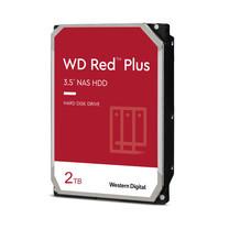 WD Internal Hard Drive NAS 2 TB RED PLUS ฮาร์ดดิสก์ NAS 2 TB HDD 3.5