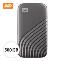 WD NEW MY PASSPORT  SSD  500 GB  ( WDBAGF5000AGY-WESN ) - GRAY