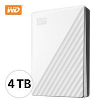 WD NEW MY PASSPORT 4 TB (WDBPKJ0040BWT-WESN) - WHITE