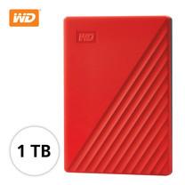 WD NEW MY PASSPORT 1 TB (WDBYVG0010BRD-WESN) - RED