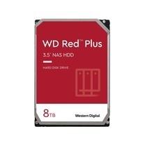 WD Internal Hard Drive NAS 8 TB ฮาร์ดดิสก์ NAS 8TB RED PluS 7200  RPM (WD80EFBX)