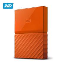 WD NEW MY PASSPORT 1TB (WDBYNN0010BOR-WESN) - ORANGE