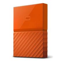 WD NEW MY PASSPORT 4TB (WDBYFT0040BOR-WESN) - ORANGE
