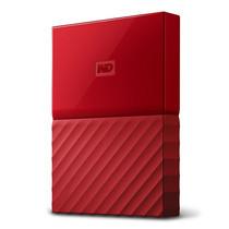 WD NEW MY PASSPORT 1TB (WDBYNN0010BRD-WESN) - RED