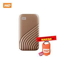 WD NEW MY PASSPORT  SSD  2 TB   (WDBAGF0020BGD-WESN)- GOLD