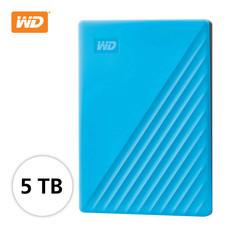 WD NEW MY PASSPORT 5 TB (WDBPKJ0050BBL-WESN) - BLUE