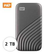 WD NEW MY PASSPORT  SSD  2 TB  ( WDBAGF0020BGY-WESN ) – GRAY