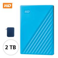 WD NEW MY PASSPORT 2 TB (WDBYVG0020BฺBL-WESN) - BLUE
