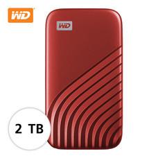 WD NEW MY PASSPORT  SSD  2 TB   (WDBAGF0020BRD-WESN ) – RED