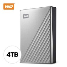 4 TB WD MY PASSPORT ULTRA SILVER WDBFTM0040BSL-WESN