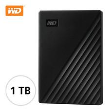 WD NEW MY PASSPORT 1 TB (WDBYVG0010BBK-WESN) - BLACK