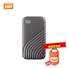 WD NEW MY PASSPORT  SSD  2 TB  ( WDBAGF0020BGY-WESN ) – GRAY