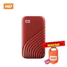 WD NEW MY PASSPORT  SSD  2 TB   (WDBAGF0020BRD-WESN ) – RED