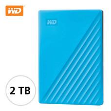 WD NEW MY PASSPORT 2 TB (WDBYVG0020BBL-WESN) - BLUE