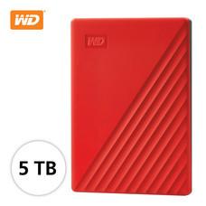 WD NEW MY PASSPORT 5 TB (WDBPKJ0050BฺRED -WESN) - RED