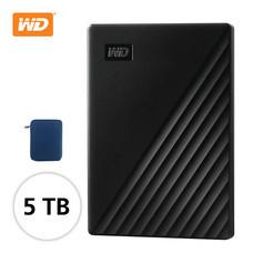 WD NEW MY PASSPORT 5 TB (WDBPKJ0050BฺฺBK -WESN) - BLACK
