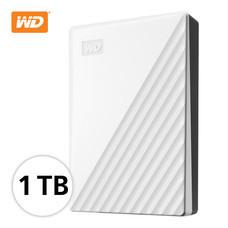 WD NEW MY PASSPORT 1 TB (WDBYVG0010BWT-WESN) - WHITE