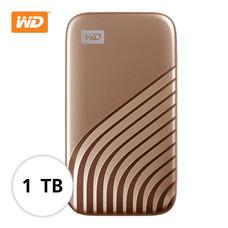WD NEW MY PASSPORT  SSD  1 TB   (WDBAGF0010BGD-WESN)- GOLD