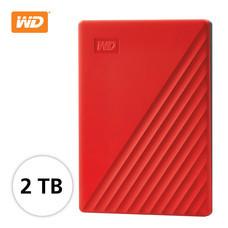 WD NEW MY PASSPORT 2 TB (WDBYVG0020BRD-WESN) - RED