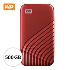 WD NEW MY PASSPORT  SSD  500 GB  (WDBAGF5000ARD-WESN ) – RED