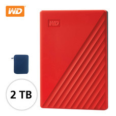 WD NEW MY PASSPORT 2 TB (WDBYVG0020BฺRD-WESN) - RED