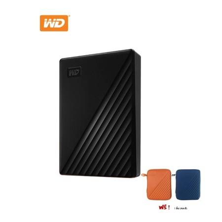 WD NEW MY PASSPORT 4 TB (WDBPKJ0040BBK-WESN) - BLACK