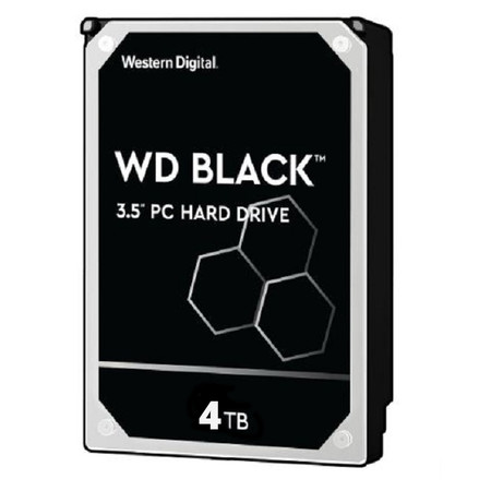 WD Internal Hard Drive BLACK 4 TB ฮาร์ดดิสก์ BLACK 4 TB HDD 3.5 (WD4005FZBX)